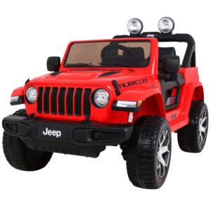 Jeep Wrangler Rubicon Red