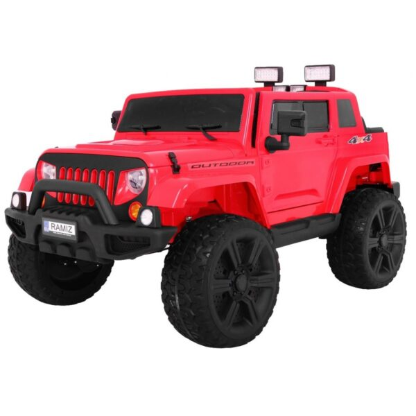 Mighty Jeep 4×4 Red