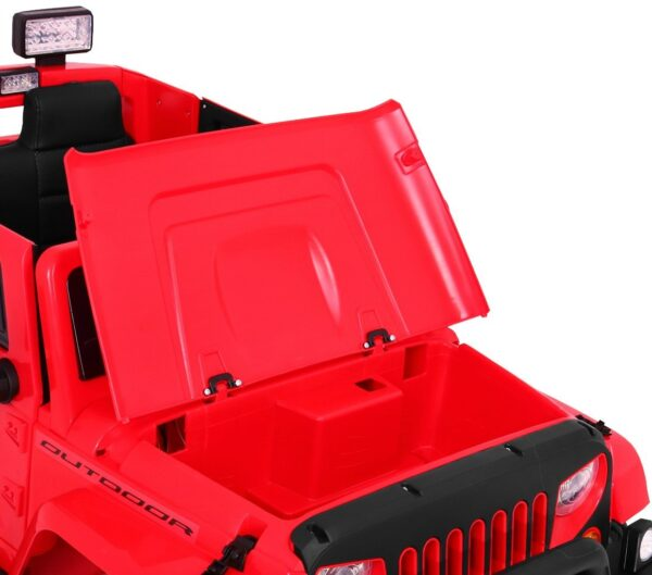 Детский электромобиль Mighty Jeep 4x4 Red