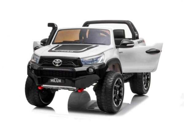 Детский электромобиль Toyota Hillux White